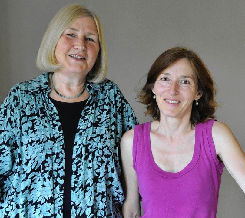 Elke Grosser (links) und Christa Gronbach.   | Foto: Michael Bamberger