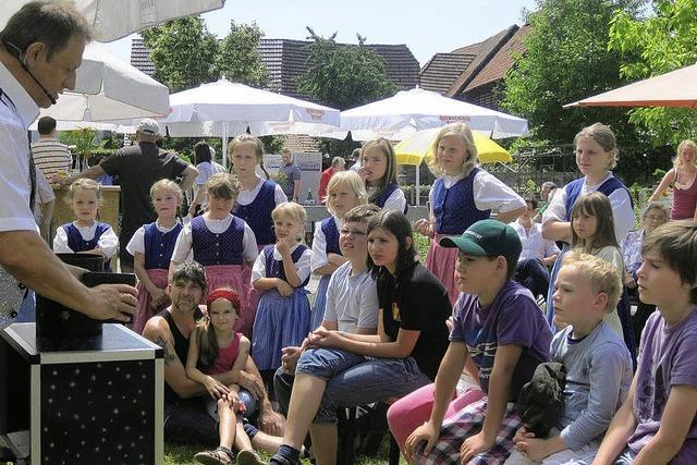 Sommerfest mit Alt und Jung