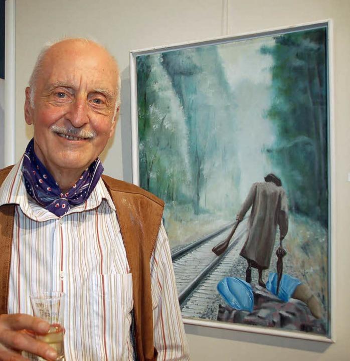Künstler Gerd Heide  | Foto: Andrea Steinhart