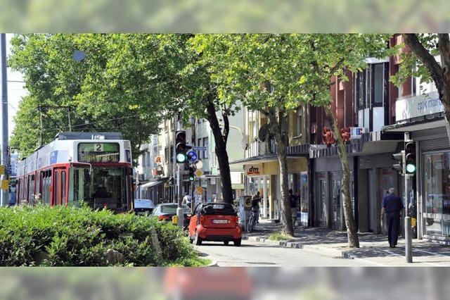 Straßenbahn-Bau in Zähringen: Einzelhandel befürchtet Einbußen