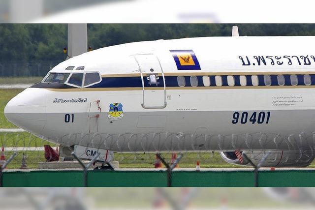 Boeing des thailändischen Kronprinzen gepfändet