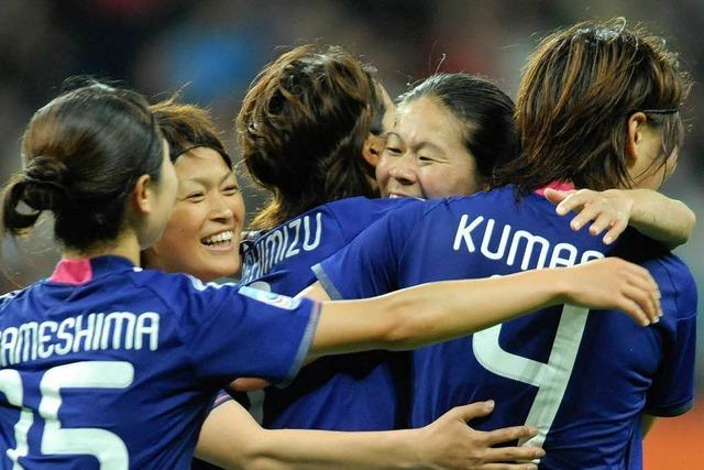 Japan empfiehlt sich für den Titel