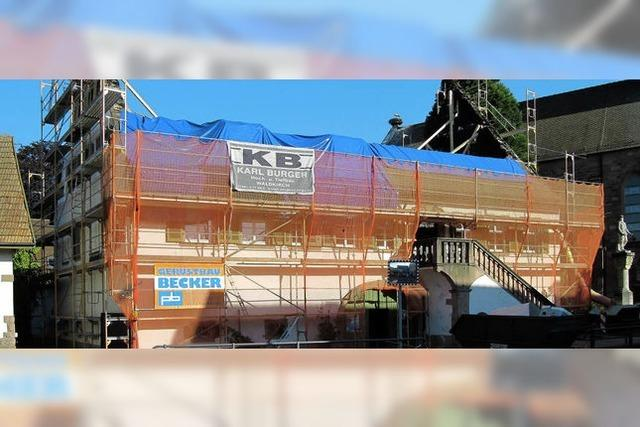 Der Wiederaufbau des Pfarrhauses wird teuer