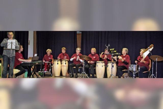 Rhythmusspaß für jedes Alter
