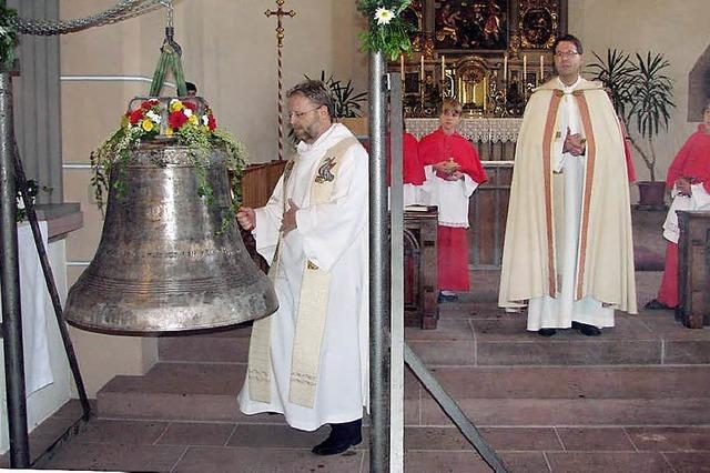 Neue Glocke ist geweiht