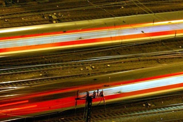 Zwei Bahnstrecken sollen elektrifiziert werden