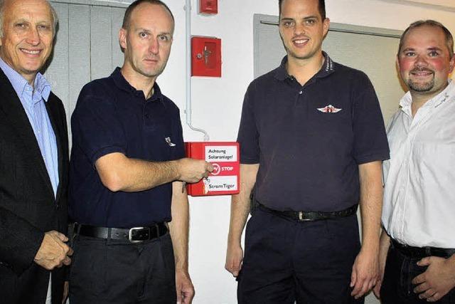 Schalter für die Sicherheit