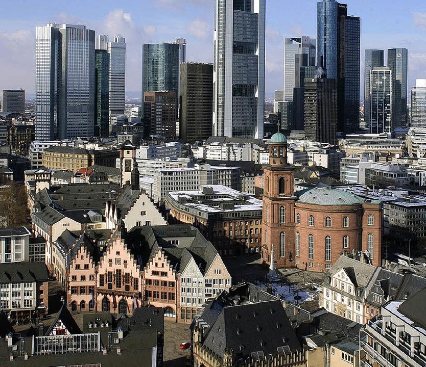 Das tut  weh: Altes und Neues in Frankfurt   | Foto: BZ