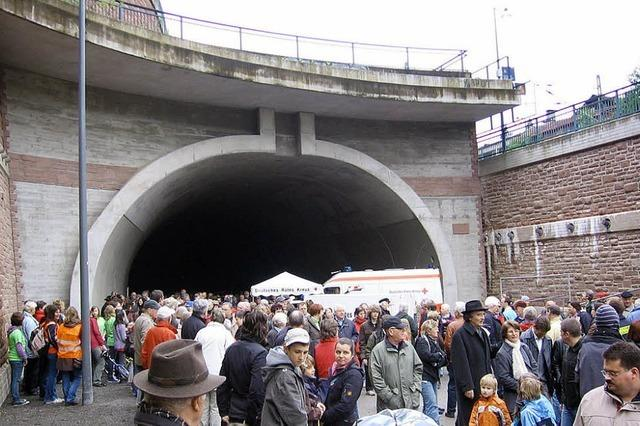 Die Kostenexplosion im Tunnel