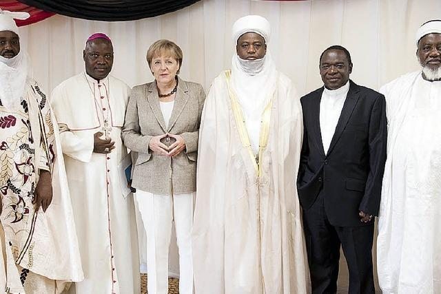 Kanzlerin Merkel wirbt für Wirtschaftskooperation