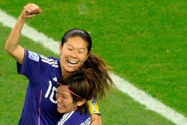 Japans Spielerinnen sind die neuen Stars der WM