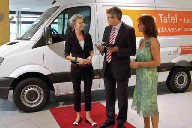 Neues Auto für Freiburger Tafel
