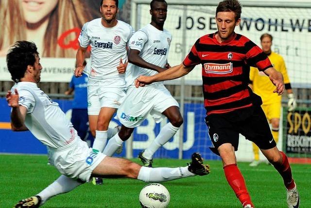 SC Freiburg gewinnt auch sein sechstes Vorbereitungsspiel