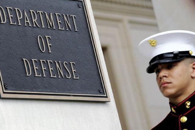Pentagon räumt Diebstahl von Waffenplänen ein