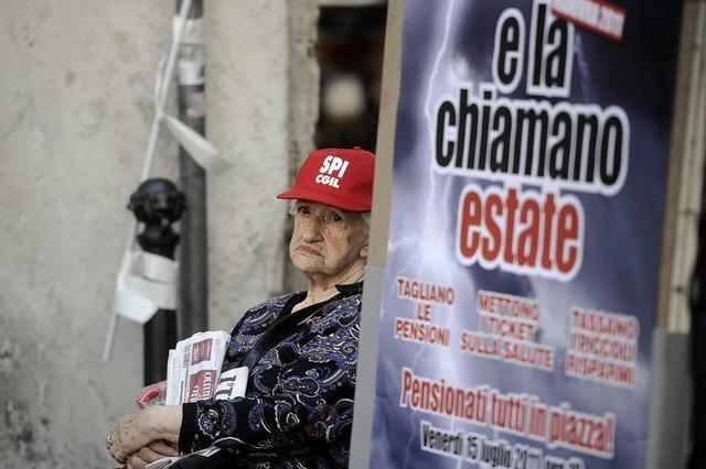 Noch wenig Protest gegen Sparpaket