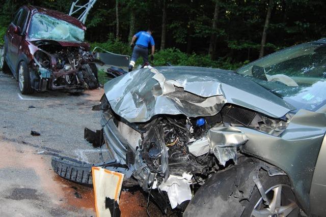34-jähriger Autofahrer stirbt an Unfallstelle