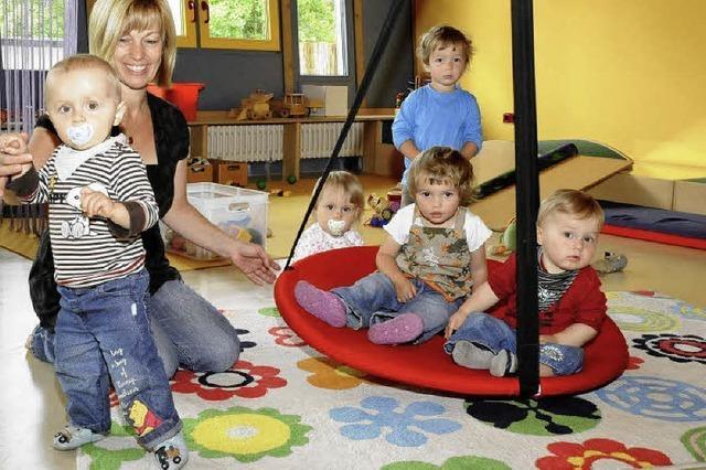 Bei der Kleinkindbetreuung ist Bahlingen über dem Soll