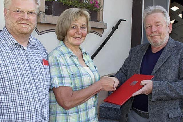 Führungswechsel beim SPD-Ortsverein Riegel