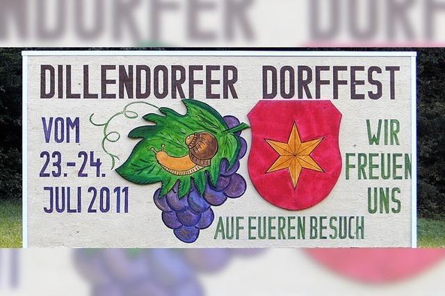 Dillendorfer Dorffest mit ganz neuem Gesicht