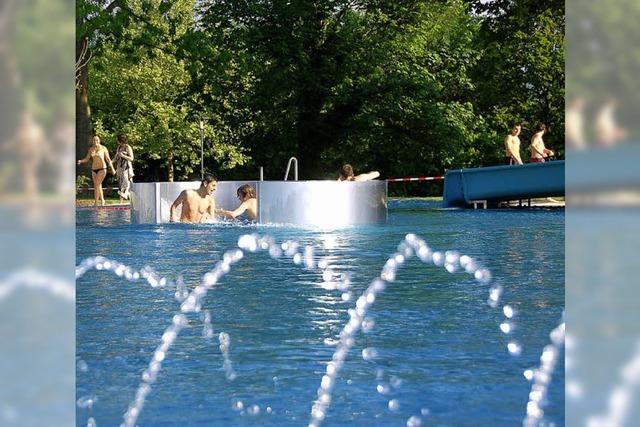 Bad führt zu leichtem Anstieg des Wasserverbrauchs