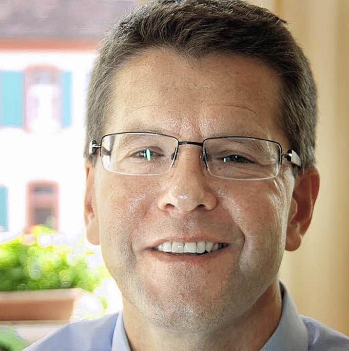 Christoph Wolk, Rektor der Hugo-Höfler-Realschule  | Foto: voigt