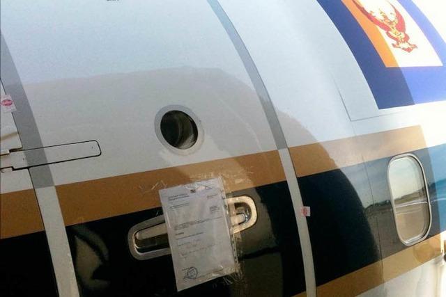 Ein Kuckuck auf der Boeing beschäftigt die Diplomatie