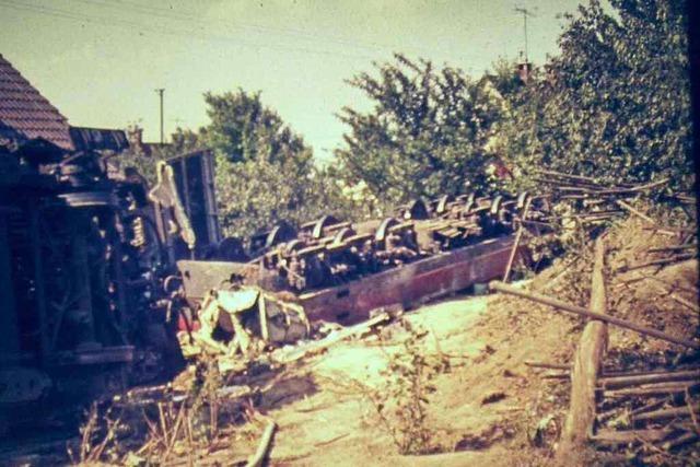 21. Juli 1971 - Rheinweiler wird zum Katastrophengebiet
