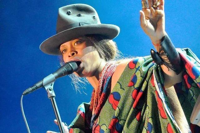 Fotos: Erykah Badu beim Stimmenfestival Lörrach