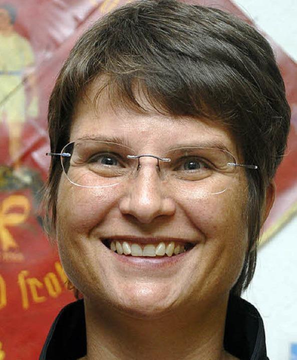 Sieht die Fecht-AG sehr positiv: Ina Heidemann  | Foto: Jannik Schall