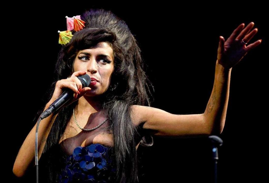 Eine Weiße, die sang wie eine Schwarze: Amy Winehouse  | Foto: dpa