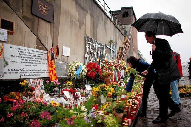 Gedenkfeier für die Opfer der Loveparade 2010