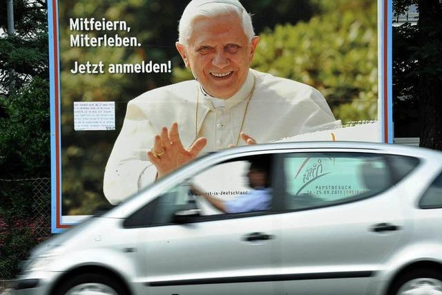 Für den Papstbesuch fehlen freiwillige Helfer
