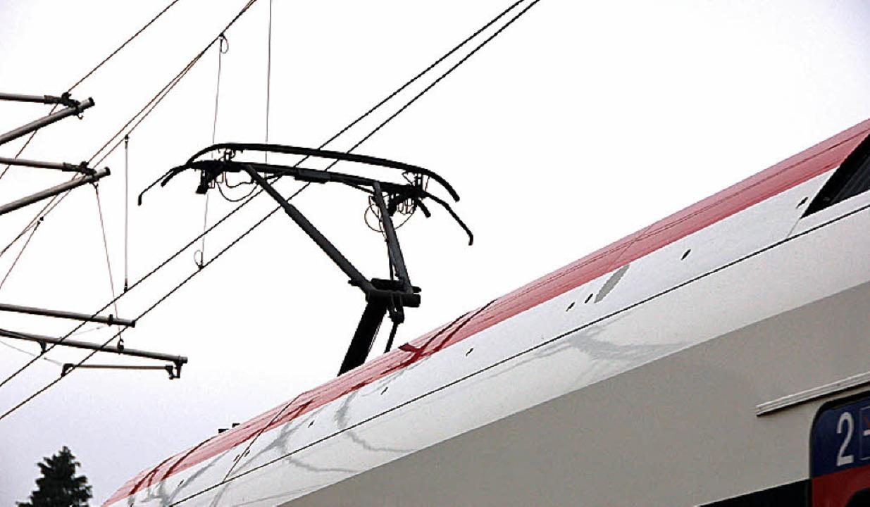 Strom wünscht sich die IG Pro Schiene auf für die Hochrheinbahn.   | Foto: Daniel Gramespacher