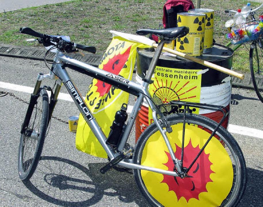Symbolträchtiges Fahrrad  | Foto: Dorothee Philipp
