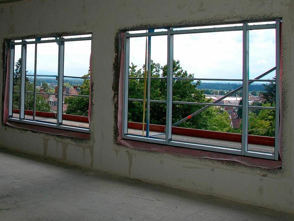 Gute Aussichten vom Frühjahrt 2012 an aus den Krankenzimmern  | Foto: hans-jürgen truöl