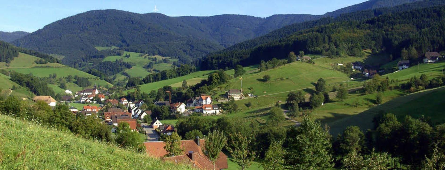 Yach, dem Dorf am Rohrhardsberg, ergin...d- und Weidewirtschaft mit Tourismus.   | Foto: gerda oswald (2)/dpa