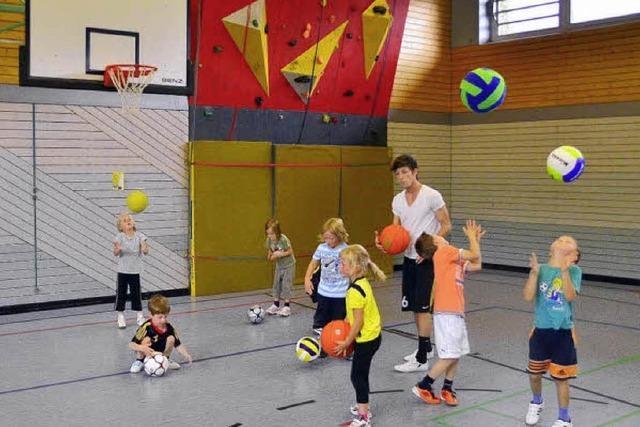 Kinder spielerisch ihre Talente entdecken lassen