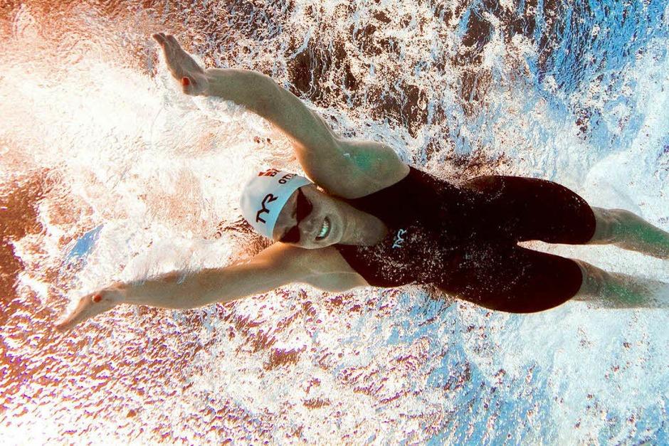 Die schönsten Bilder von der Schwimm-WM in Schanghai (Foto: AFP)