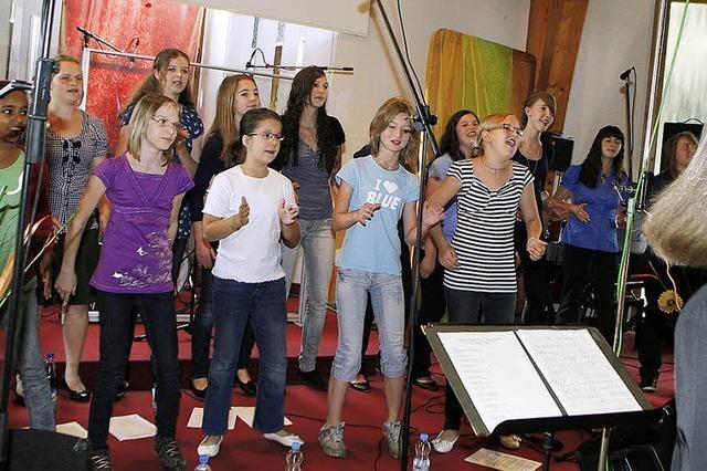 Singen mit Freude und Leidenschaft