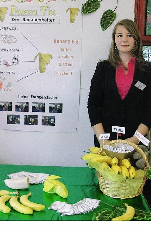 Anna Störmer, Bahlinger Schülerin der ...idee das Ticket zum NFTE-Bundesevent .  | Foto: Schule