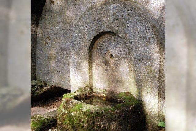 Fließend Wasser seit 100 Jahren