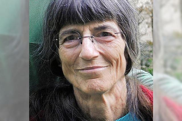 Eine engagierte Kämpferin für den Frieden