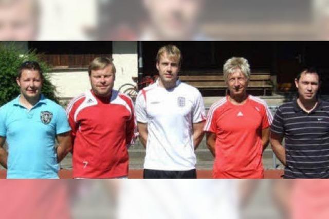 Neues Trainerteam