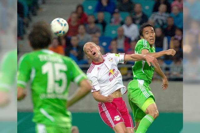 DFB-Pokal: Vfl Wolfsburg scheitert an RB Leipzig