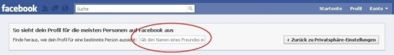 Facebook - Tippen Sie einfach den Name...hre Beiträge auf Ihrer Pinnwand sieht.