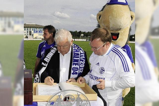 Fußballfest schon vor dem Schalke-Spiel