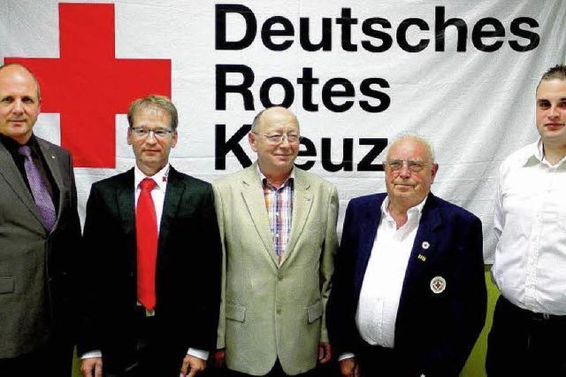 Viel Arbeit fürs Rote Kreuz