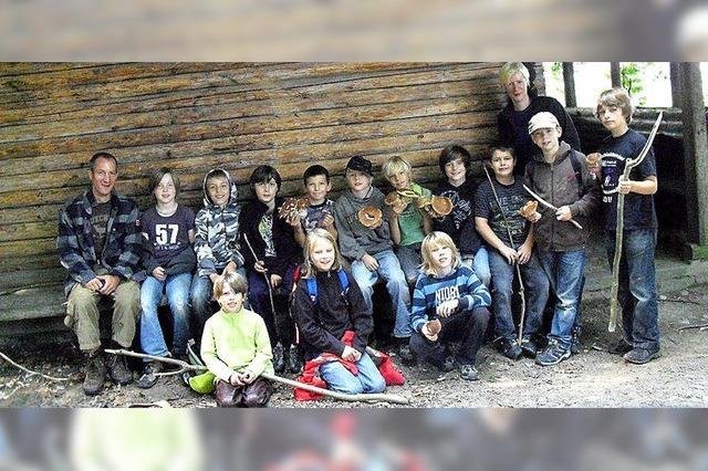 FERIEN IN INZLINGEN: Auf geheimer Mission im Inzlinger Wald