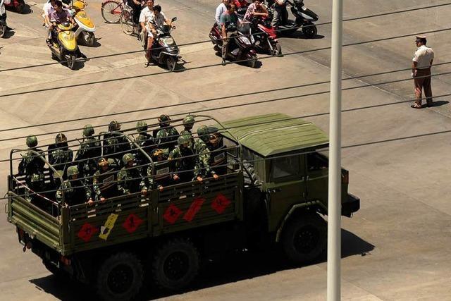 Mindestens 19 Tote in Unruheprovinz Xinjiang