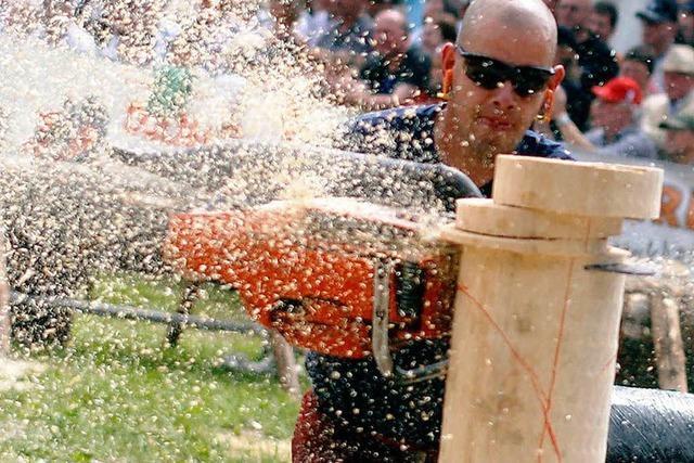 Holzfäller-Europameisterschaft endet mit tschechischem Sieg